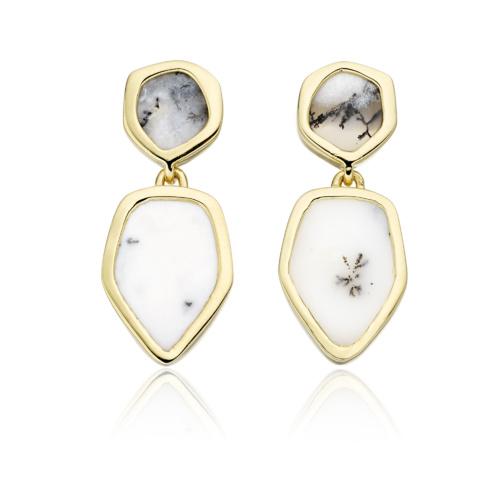 Gold Vermeil Atlantis Cocktail Earrings - Monica Vinader