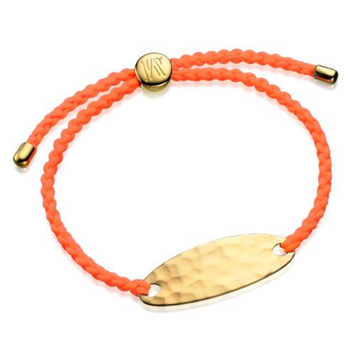 Gold Vermeil Bali Friendship Bracelet - Creativity - Monica Vinader