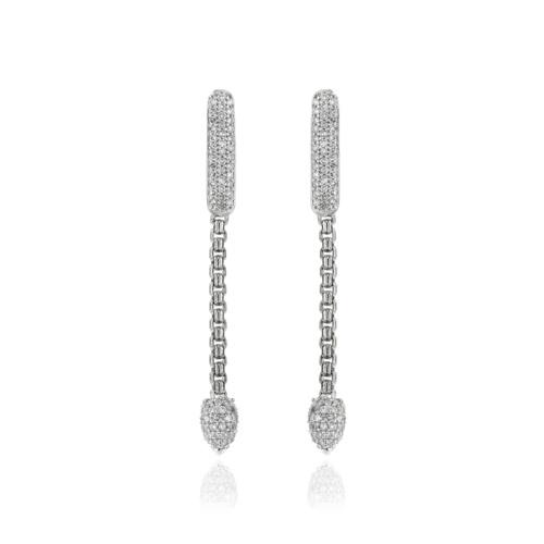 Skinny Bud Ultimate Diamond Short Earrings