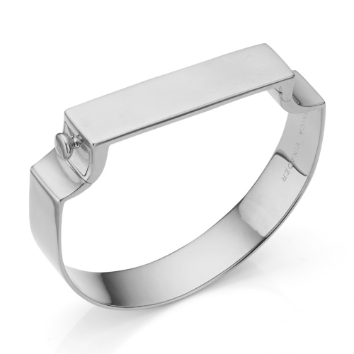 Signature Petite Wide Bangle - Monica Vinader